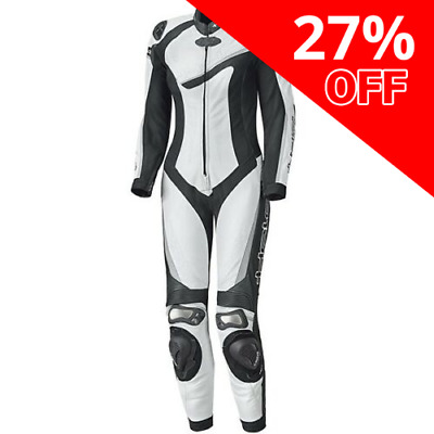 Held Ayana 2 Ladies 1 Piece Leather Suit White/Black