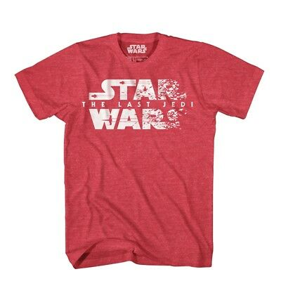Star Wars The Last Jedi Despiece Logo Camiseta Adulto