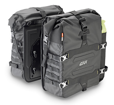 GIVI GRT709 CANYON SIDE BAGS x 2 Pair of side bag soft panniers, 35+35 l UNIFIT