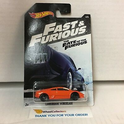 Lamborghini Murcielago Hot Wheels Fast Furious Fate Of The