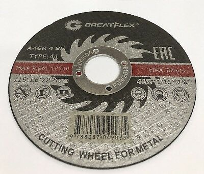 Special Price...100 Pack 4-1/2x1/16x7/8 Cutt-off Wheels 4.5 Metal Cutting Disc