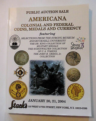 Stack's Catalog-Americana: Colonial & Federal Coins, Medals, and Currency, 2004