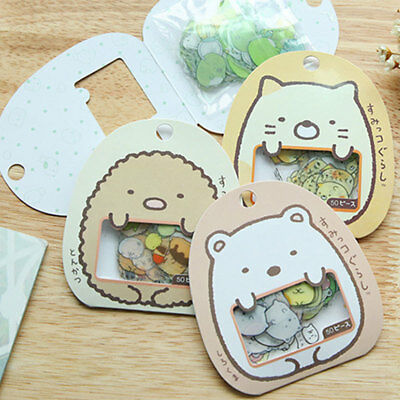 50pcs Japanese Sticker-Flakes Kawaii Cute Scrapbooking DIY Decoration Hot fd