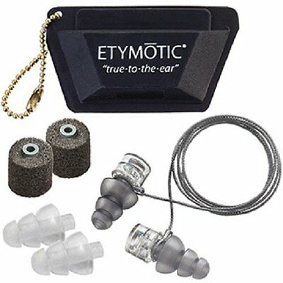 ETYMOTIC High Fidelity ER20XS-UF-C Universal Fit Ear Plugs Protection, 3 pairs