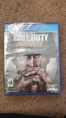 Call of Duty: WWII (Sony PlayStation 4, 2017)BRAND NEW FACTORY SEALED