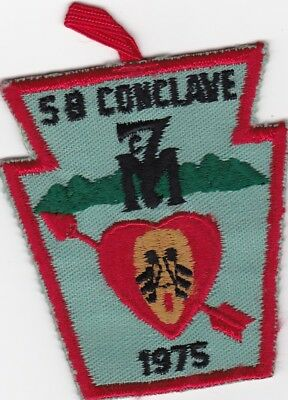 Section NE-5B 1975 Conclave, Order of the Arrow