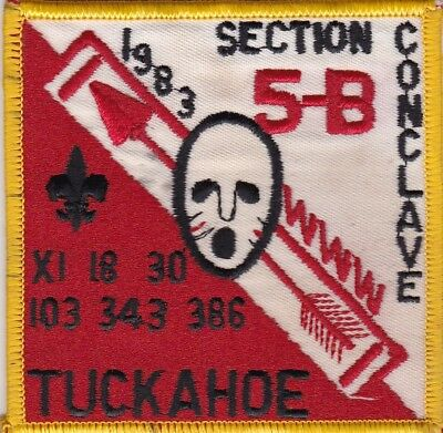 Section NE-5B 1983 Conclave, Order of the Arrow