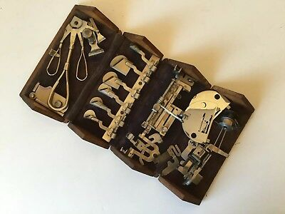 Vintage Singer Treadle Sewing Machine Puzzle Box Attachments No 11