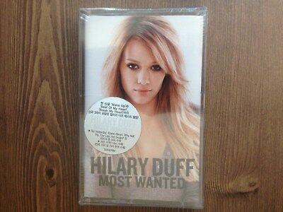 Hilary Duff -  Most Wanted 2005 Korea Cassette Tape New Sealed