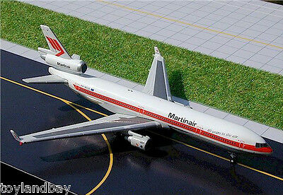 Gemini Jets 187WB Martinair OLD McDonnell Douglas MD-11 1:400 Scale Diecast Mint