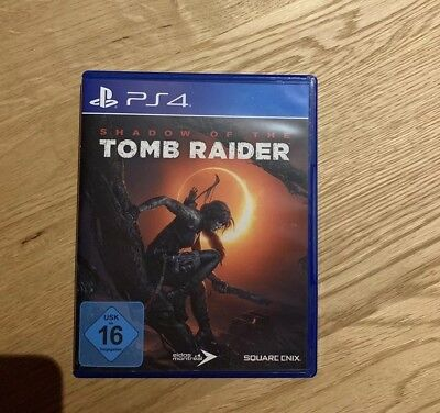 SHADOW OF THE TOMB RAIDER - PLAYSTATION 4 - Wie Neu Ps4
