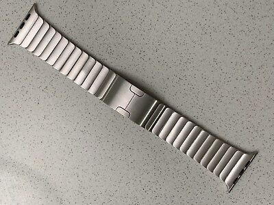 Genuine Apple Watch Band - 44/42MM Silver Link Bracelet - Stainless Steel