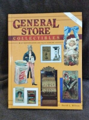 General Store Collectibles Identification and Value Guide (HC) Advertising NICE