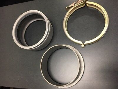 """8"""" aluminum pipe weld coupler joint connection ring lock valley reinke zimmatic"""