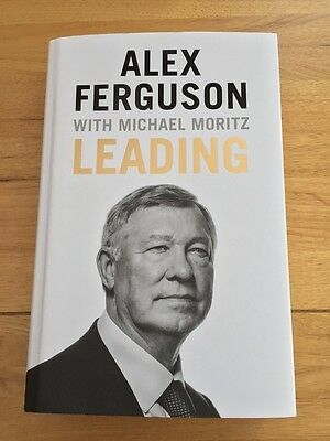 Superb Alex Ferguson Leading Hand Signed Brand New & Unread Book
