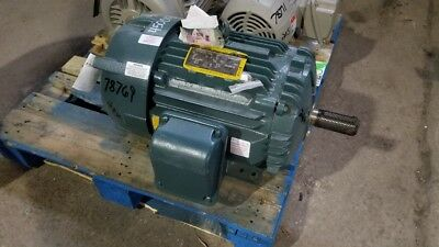 25 HP Baldor/Reliance Electric Motor, 1800 RPM, 284T 286T Frame, TEFC, 460 V NEW