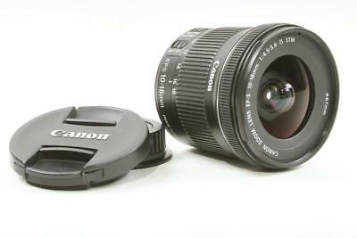 Used Canon EF-S 10-18mm f/4.5-5.6 IS STM Zoom Lens