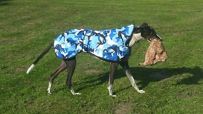 Camouflague Winter Greyhound And Lurcher Coats