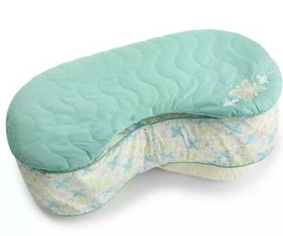Bliss Nursing Pillow Quilted Slip Cover, Sketchy Leaf Summer Infant - New
