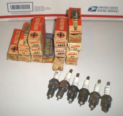 Lot of 20 NOS AutoLite Spark plugs - New Old Stock - Best Offers...