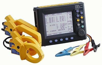 Hioki 3169-20-01/500 Power Quality Analyzer Kit, 500 AAC