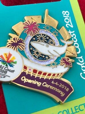 Commonwealth Games Gold Coast 2018 ~ Opening Ceremony Pin ~ New on card