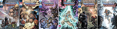 (2018) Injustice Vs The Masters Of The Universe #1-6 Complete Set! He-Man!
