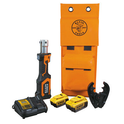 Klein Tools BAT207T234H Battery Operated Cable Crimper With 0+ Die Head