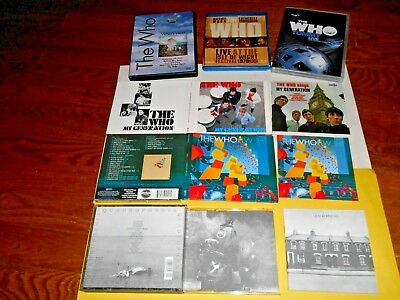 Lot of 5] Blu-ray + 3 CD + 2 DVD; The Who: LIVE AT THE ISLE OF WIGHT FESTIVAL