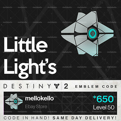 Destiny 2 Little Light's emblem IN HAND!! SAME DAY DELIVERY!!!
