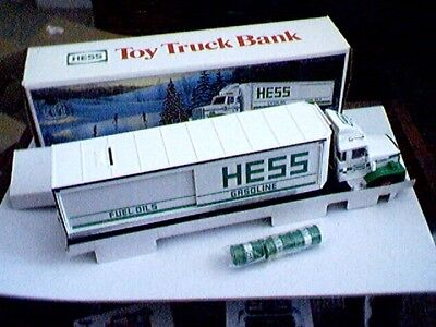 Hess 1987 TOY TRUCK BANK - Original Box with Inserts