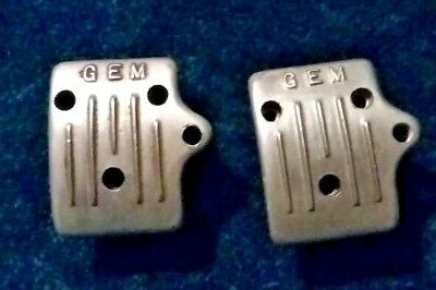 2 vintage go kart GEM big bore carb stone guards McCulloch and Foreign engines