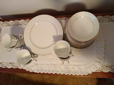 Norleans White Lace Vintage Fine China 65 Pieces Set Made In Japan