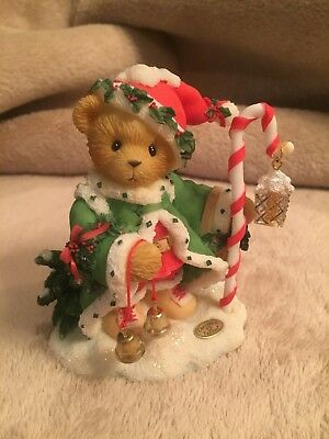 "Cherished Teddies ""The Spirit Of Christmas Is In Us All"" 2000 Figurine"