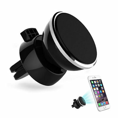 360 Rotate Magnetic Car Mount Holder Air Vent Stand For Universal Cell Phone GPS