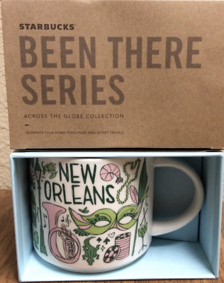 Starbucks New Orleans 14 Ounce Been There Series (BTS) Mug. NWT. 14OZ.