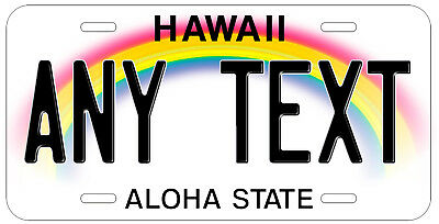 Personalized Custom Hawaii State License Plate Any Name Novelty Auto Car Tag