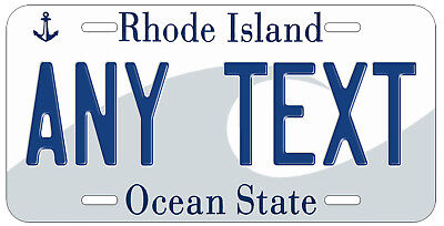 Personalized Custom Rhode Island State License Plate Any Name Novelty Car Tag