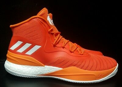 Mens Adidas Derrick Rose D Rose Boost Basketball New Shoes Size 15 Orange  CQ1627 19864e200
