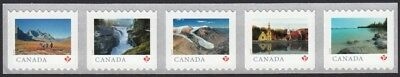 2019 LARGE Coil strip of 5 stamps = FROM FAR AND WIDE = Canada MNH-VF