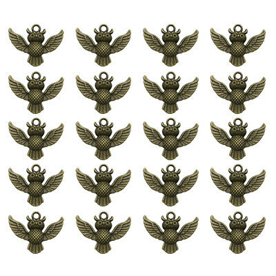 20 pcs Alloy Pendants Decorative DIY Jewelry Making Accessory for Necklace Craft