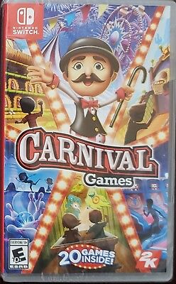 Carnival Games - Nintendo Switch New!