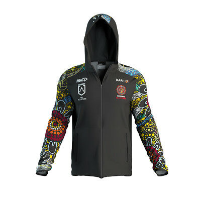 Indigenous All Stars 2019 Players Team Hoody Jacket Size S-5XL! NRL Aboriginal
