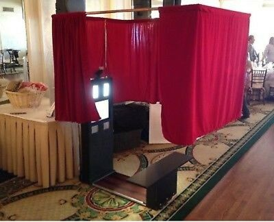 Portable Photo Booth Complete photo booth Turn-Key Business Printer,touch screen