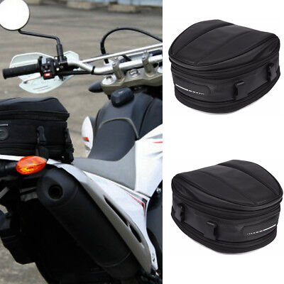 Waterproof Motorcycle Rear Tail Bags Sport Back Seat Bag Scooter Tool Pack