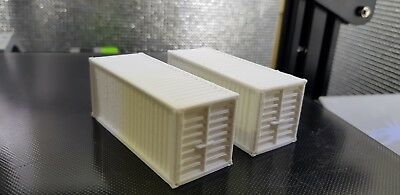 HO/OO Scale 20ft Shipping Containers 2 PACK NEW, many available!!