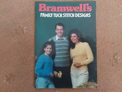 Bramwells  'family Tuck Stitch Designs' ....machine Knitting..standard Machines