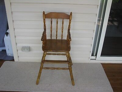 Childcare Timber Baby Feeding High Chair