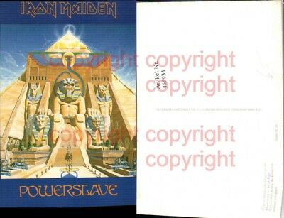 466931,Musiker Band Iron Maiden Powerslave Cover
