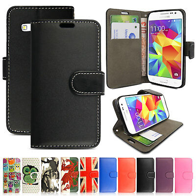 Magnetic Flip Wallet Leather Card Case Cover For Samsung Galaxy Ace 4 G357FZ